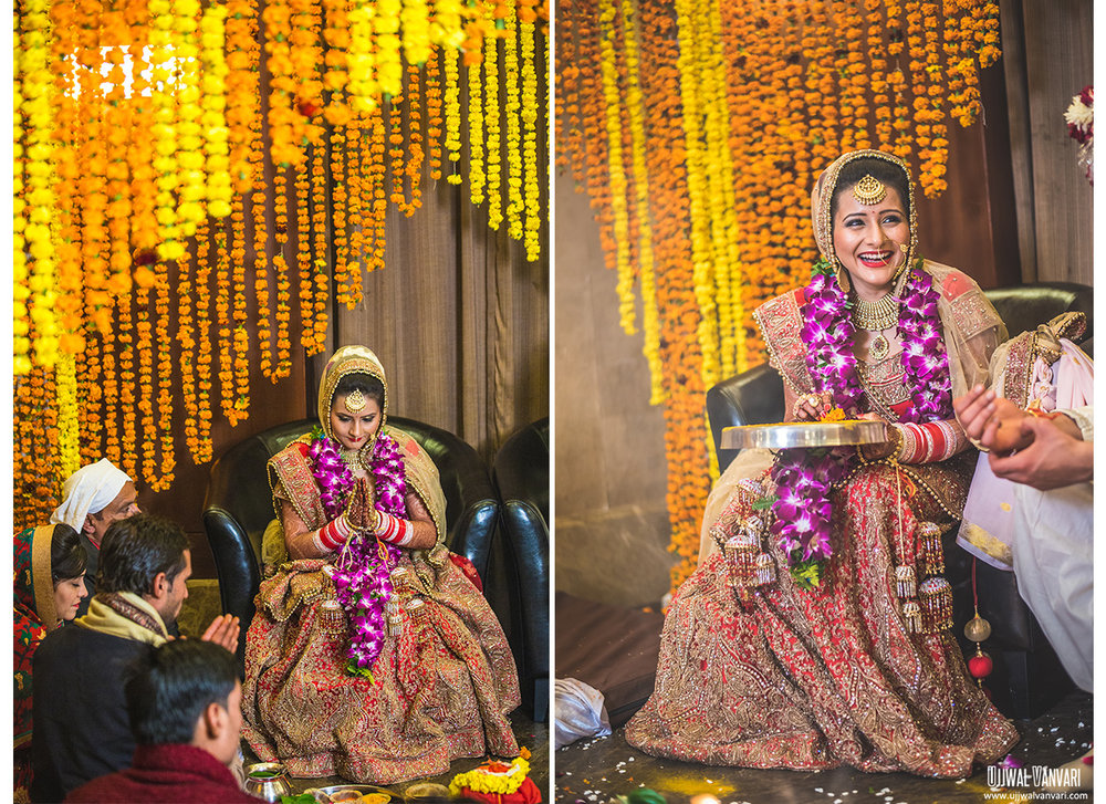 Lucknow Wedding Photography | Purva & Dhawal Lucknow Wedding | Candid Wedding Photography