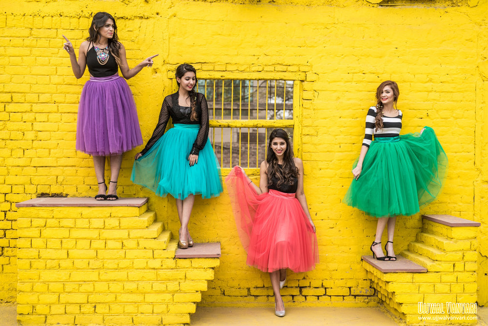 Fashion Photoshoot   the Perfect Location   Dixika Vanvari Withlovemissd Ashima Makhija Colorsnglitters Niki Mehra Nikimehra and Malveika Gupta Styleonwings