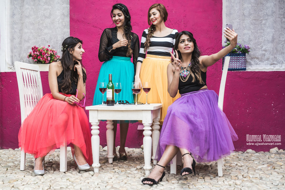 Fashion Photoshoot | the Perfect Location | Dixika Vanvari Withlovemissd Ashima Makhija Colorsnglitters Niki Mehra Nikimehra and Malveika Gupta Styleonwings
