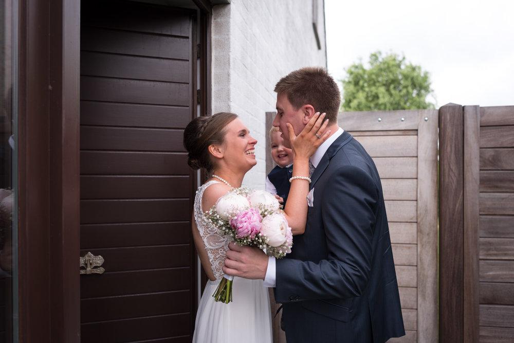 Bruid bruidegom Evergem