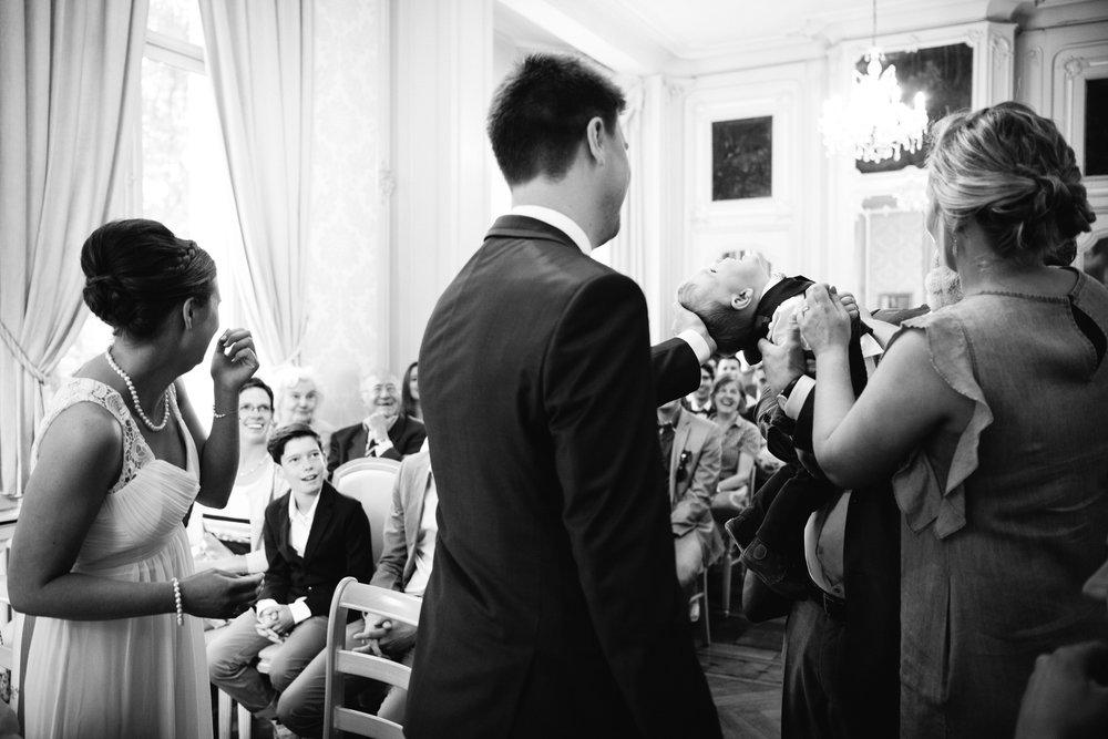 Huwelijksceremonie kasteel van wippelgem