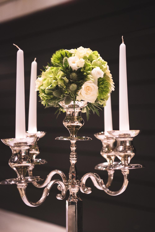 Detail huwelijksbloemen