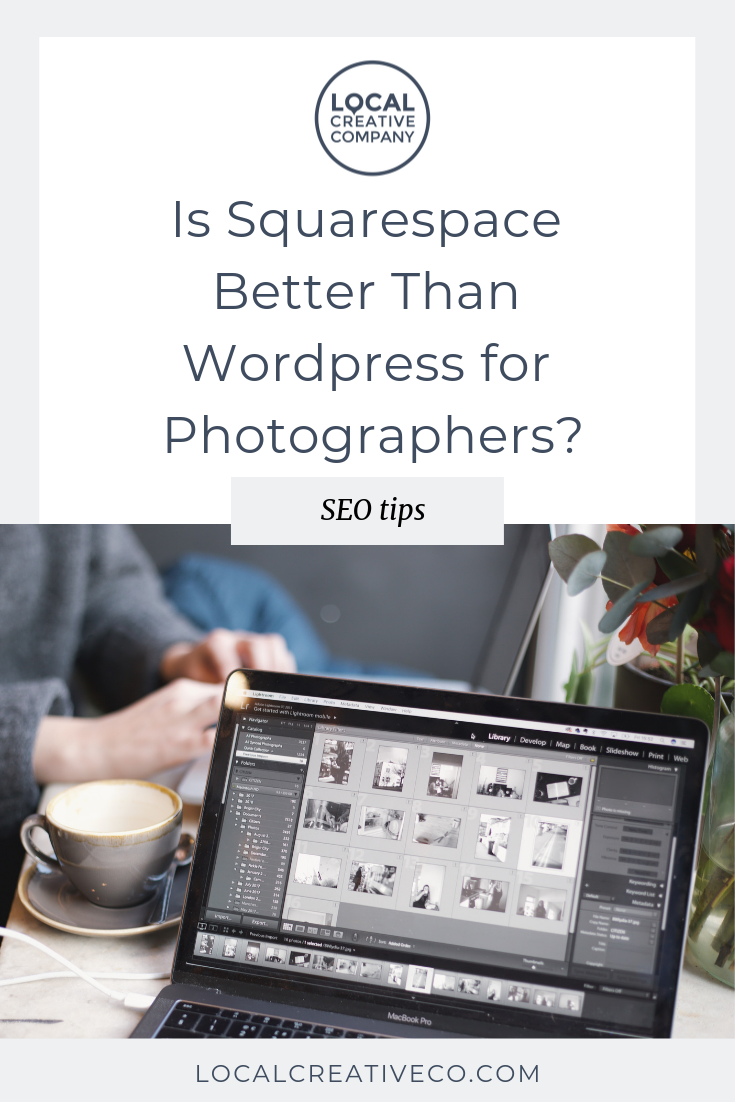 Squarespace vs. Wordpress  and why it matters for photographers.  I'm going to share my thoughts on the topic and  what YOU, as a photographer, should take into consideration when making this decision.