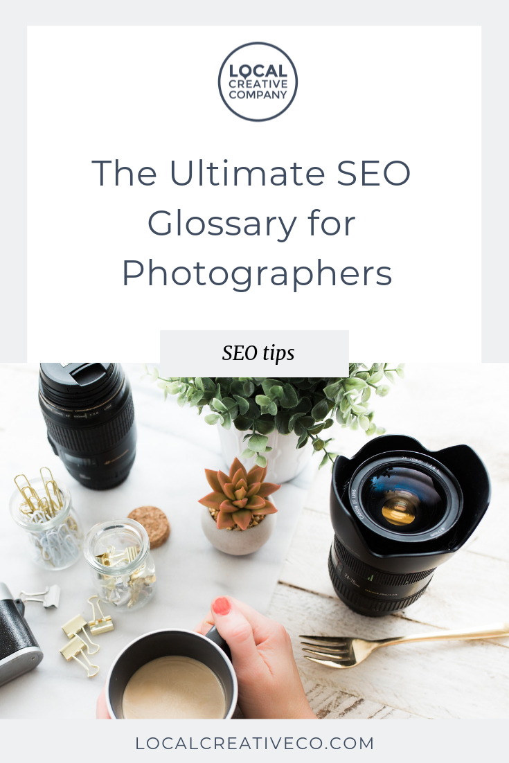 SEO can feel confusing. What are keywords? How do you use them strategically on your website? Here is a super non-techy way to define some basic terms and tools relating to search engine optimization for photographers.