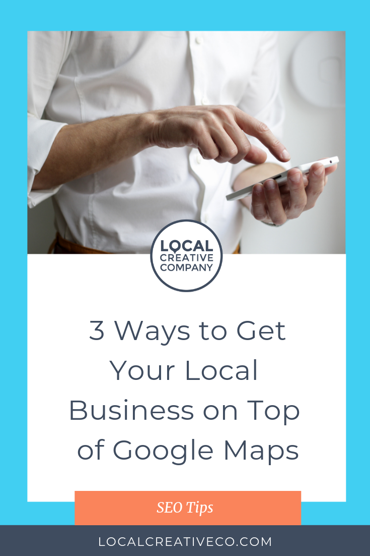 You see Google Maps suggesting businesses near you all the time and you wonder how your competition got there. You've tried to optimize your website, but you just don't seem to be showing up.   Here are 3 ways to get your local business website to the top of Google Maps (#3 might surprise you)!