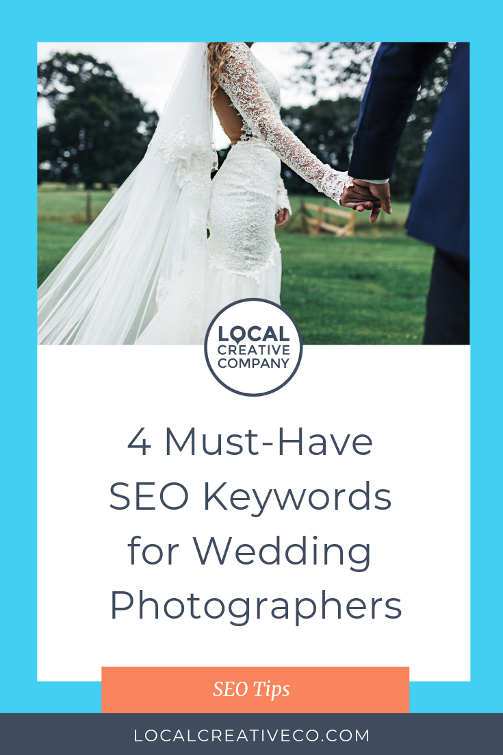 When you're optimizing your photography business website, it's important to understand keywords and how choosing the right keywords can lead potential clients directly to you.  While keyword research is super important to your overall SEO strategy (check out the google keyword planner), here are some keyword ideas to get you started.