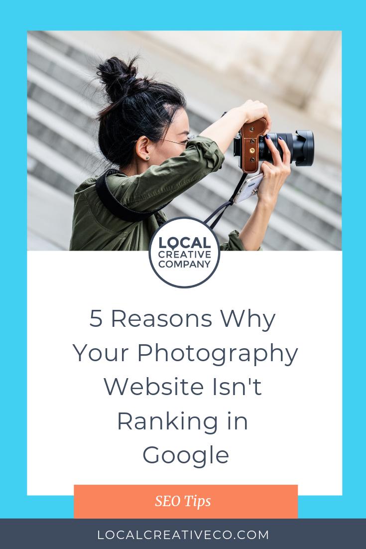 As a photographer, you how difficult it can be to get found online. Google is a competitive place and how well you rank makes a huge difference in how many potential clients the search engine sends your way.