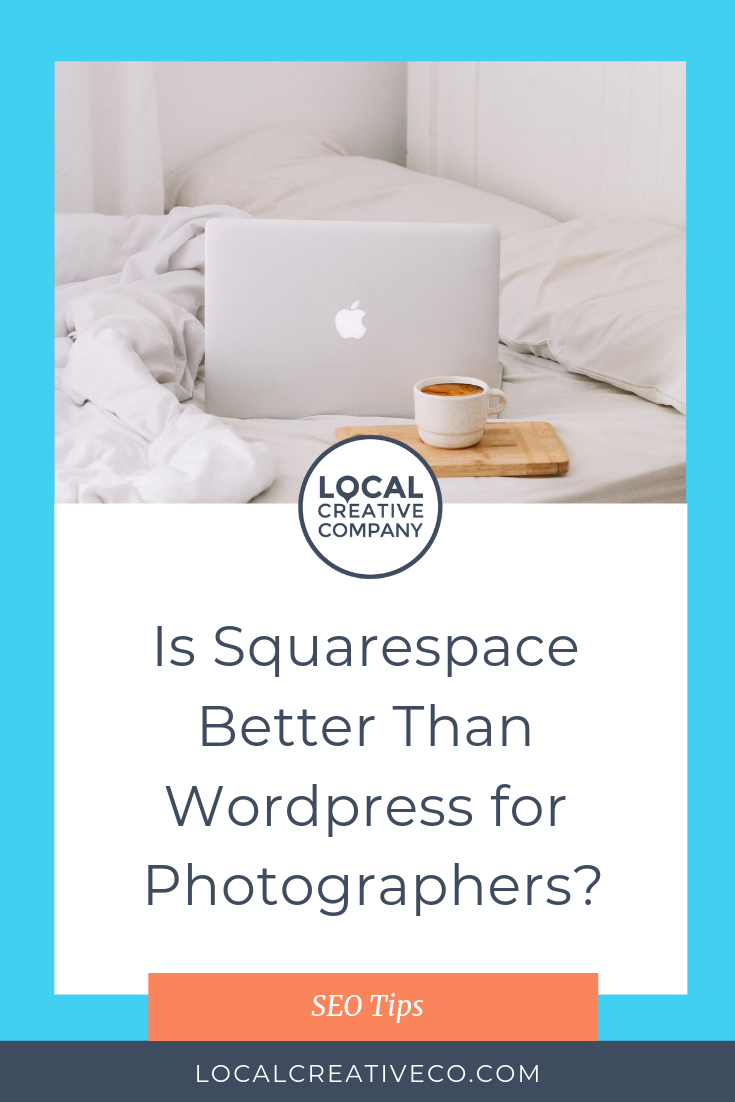 Squarespace vs. Wordpress and why it matters for photographers. It's tough to choose a platform when you're first building your photography business website. Or maybe you've already built your website and you want to know if you should stay where you are or switch.