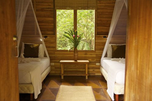Eco-Cottage w/ Private Bath   Double occupancy (twins):  $1,850pp