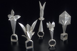 Linda Threadgill:  Formal Garden Rings