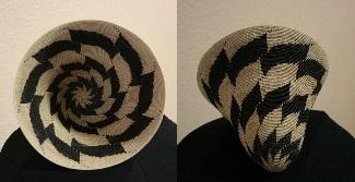 9 Point Spinning Star    Coil Burden Basket