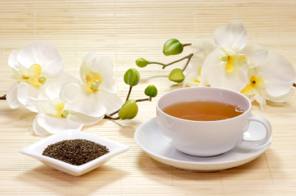 Cup of green tea for memory improvement