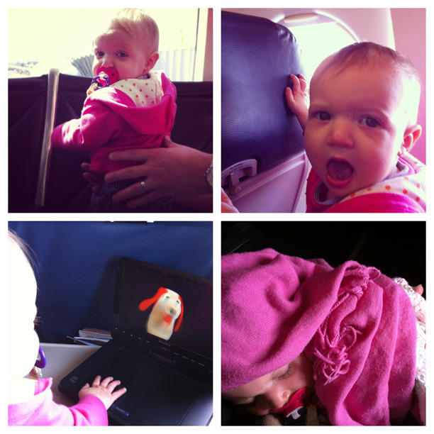 Holden's First Plane Ride @ohbotherblog