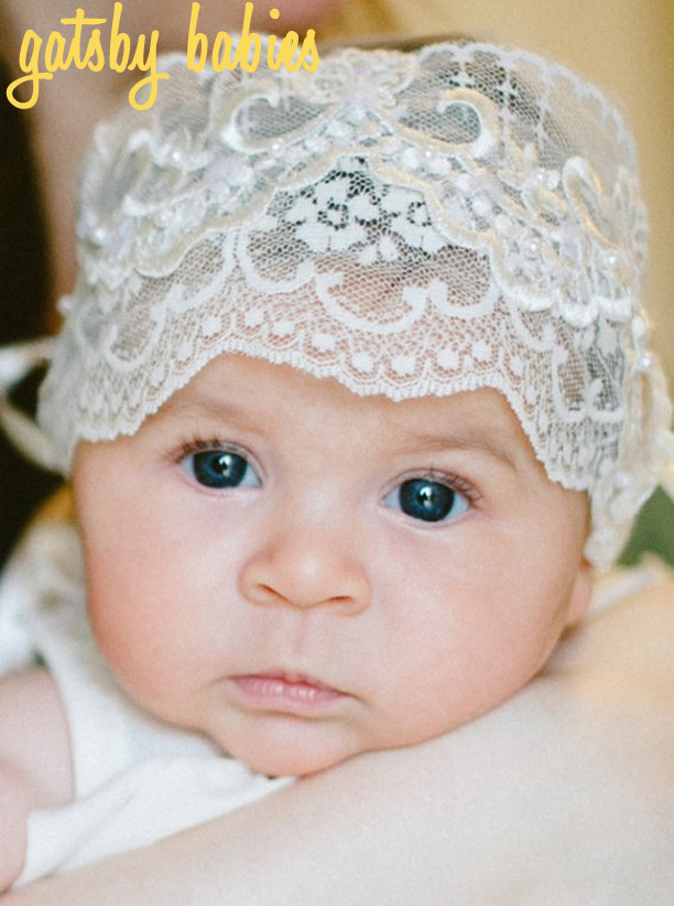 Great Gatsby-era Christening Bonnet from Joysheartcreations @ohbotherblog