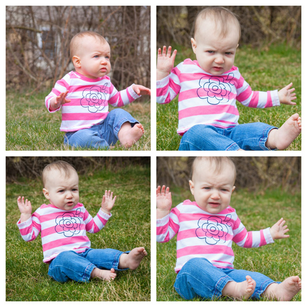 This 10-month-old baby hates the grass. @ohbotherblog