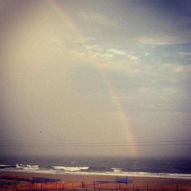 Rainbow over Nanny's spot @ohbotherblog
