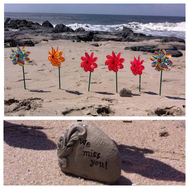 Pinwheels for Nanny @ohbotherblog