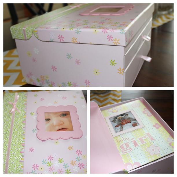Baby Keepsake Box @ohbotherblog