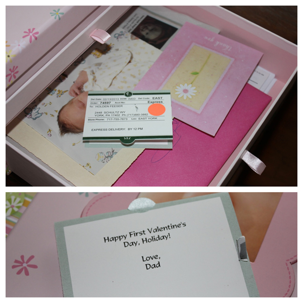 Keepsakes in the baby box @ohbotherblog