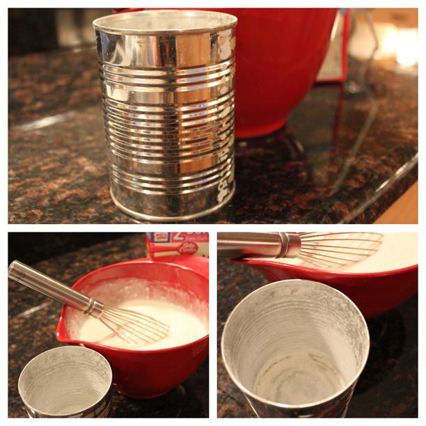 Mini Cakes Fail Step One: the mix @ohbotherblog