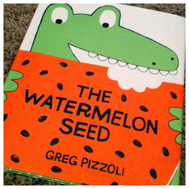 The Watermelon Seed by Greg Pizzoli @ohbotherblog