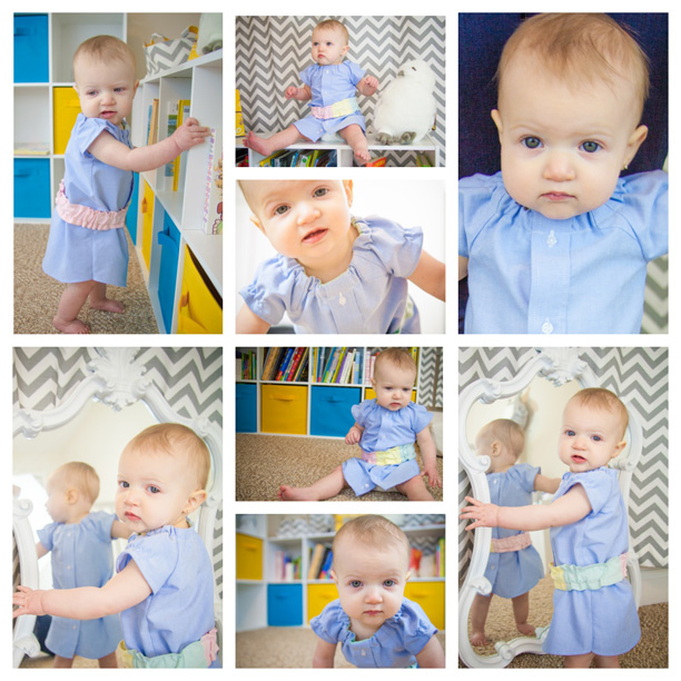 Girls' Dresses made from repurposed men's button down shirts, from The Bee Sunny Days Collection at Arthur & Daughters @ohbotherblog