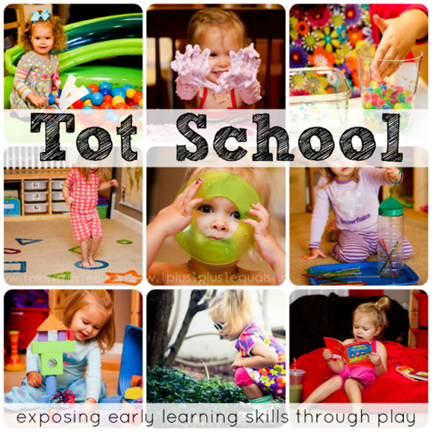 Tot School - Early Learning Through Play @ohbotherblog