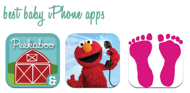 the 3 best iphone apps for your baby or toddler @ohbotherblog