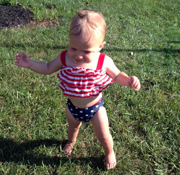 Fourth of July baby @ohbotherblog