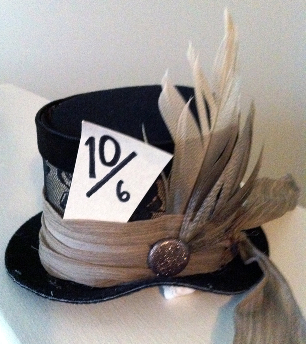 Baby Mad Hatter Halloween Costume - baby tophat @ohbotherblog