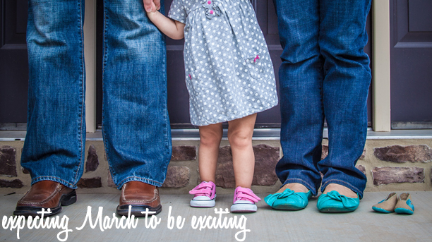 Baby number two photo announcement @ohbotherblog