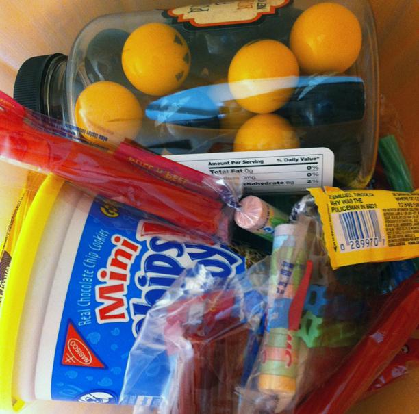 We've Been Booed Candy Basket @ohbotherblog