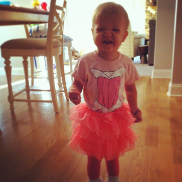 Happy Holdyween - Disney Princess onesie and tutu @ohbotherblog