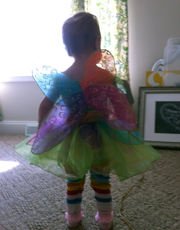 Happy Holdyween - fairy costume @ohbotherblog