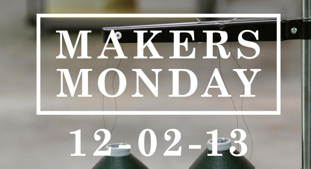 Makers Monday - buy American-made on December 2 @ohbotherblog