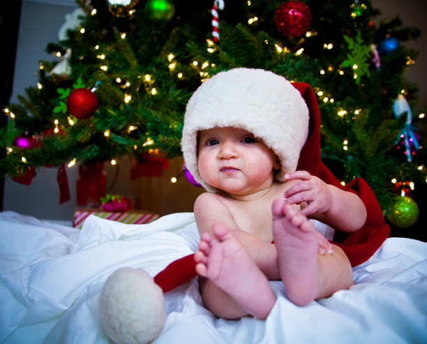 Baby's first Christmas @ohbotherblog