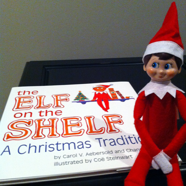 The Elf on the Shelf @ohbotherblog