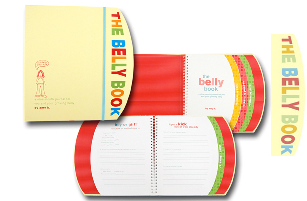 The Belly Book: A Nine-Month Journal for You and Your Growing Belly @ohbotherblog