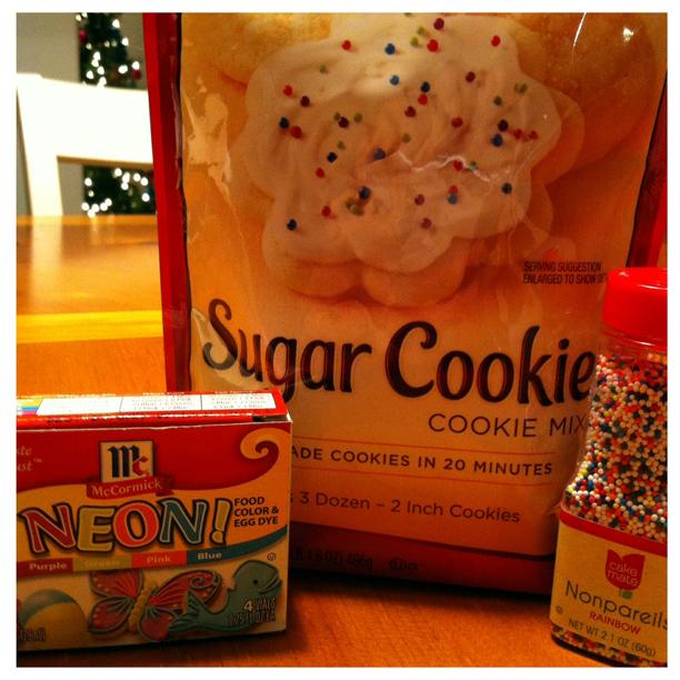 Rainbow Cookies - Dr Suess Cookies @ohbotherblog
