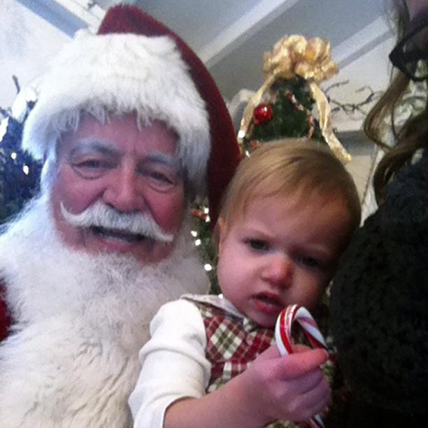 Santa Selfie @ohbotherblog