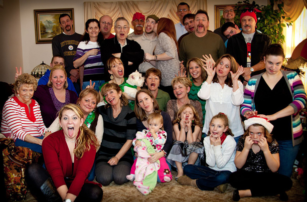 The Christmas Eve party 2011 @ohbotherblog