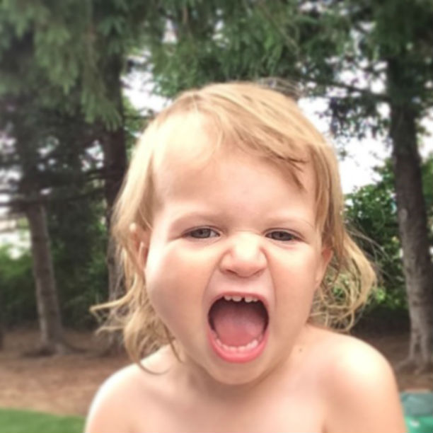 My toddler is a screamer. @ohbotherblog