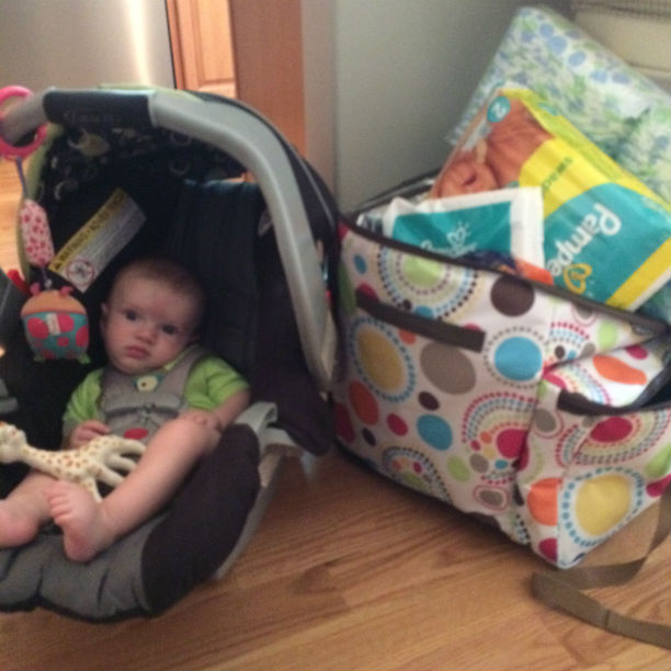 craycation - going to the beach with a toddler and a baby @ohbotherblog
