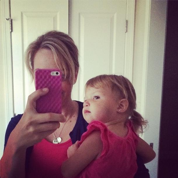 Toddler ponytail @ohbotherblog