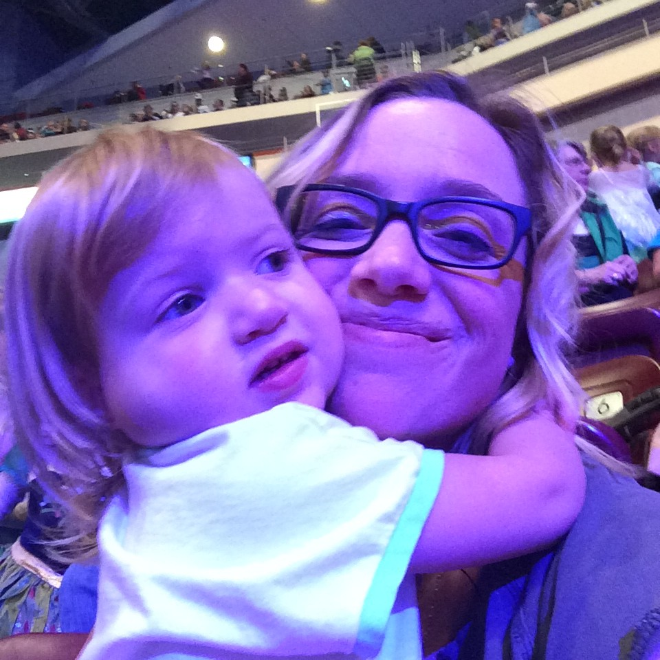 Holden's first trip to Disney on Ice @ohbotherblog