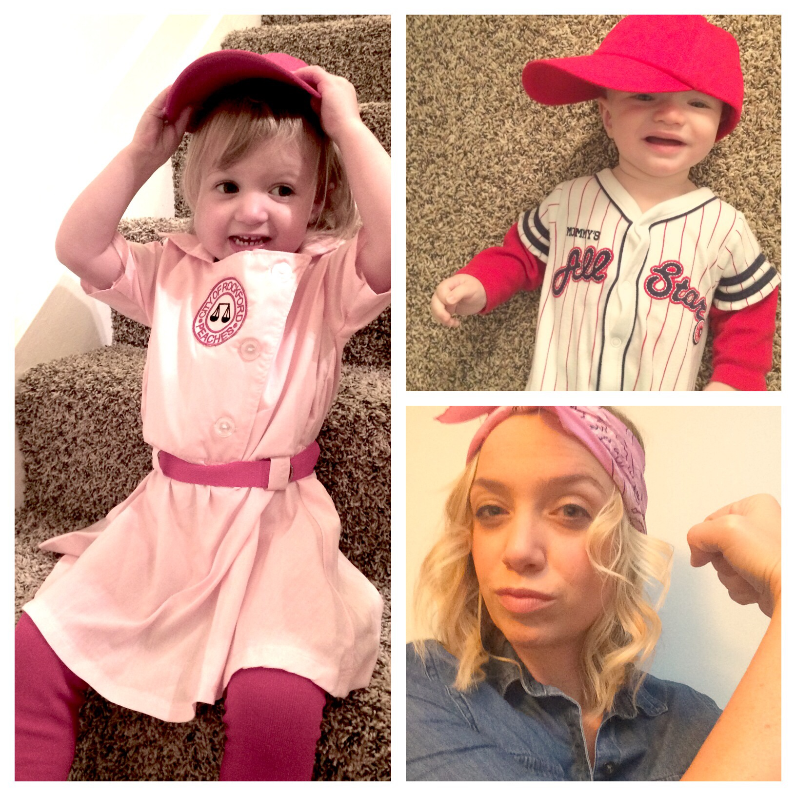 Rockford Peach, baseball player, Rosie the Riveter @ohbotherblog