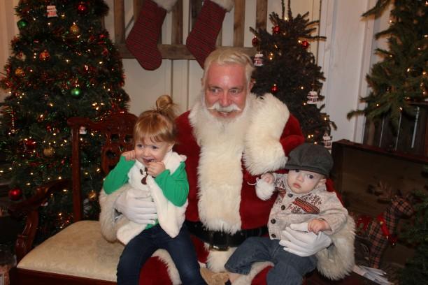 Visiting Santa 2014 @ohbotherblog