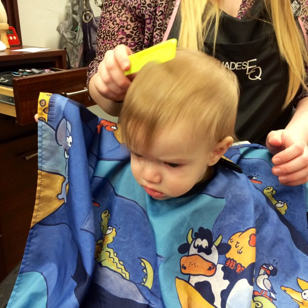 First haircuts @ohbotherblog