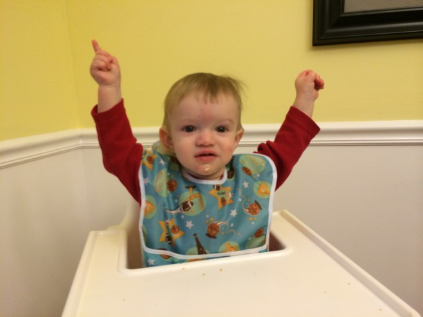 A tale of two eaters - picky toddler and hungry baby @ohbotherblog