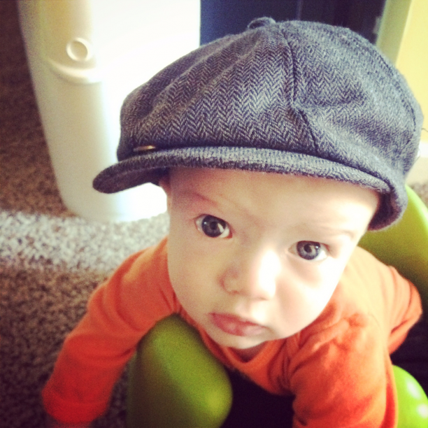 A letter to my son on his first birthday @ohbotherblog